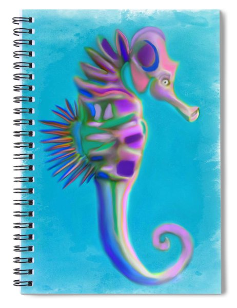 The Pretty Seahorse Spiral Notebook
