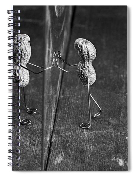 Simple Things - Apart Spiral Notebook