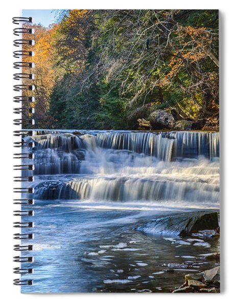 Squaw Rock - Chagrin River Falls Spiral Notebook