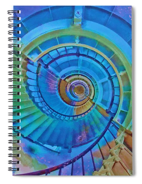 Stairway To Lighthouse Heaven Spiral Notebook
