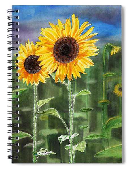Sunflowers Spiral Notebook