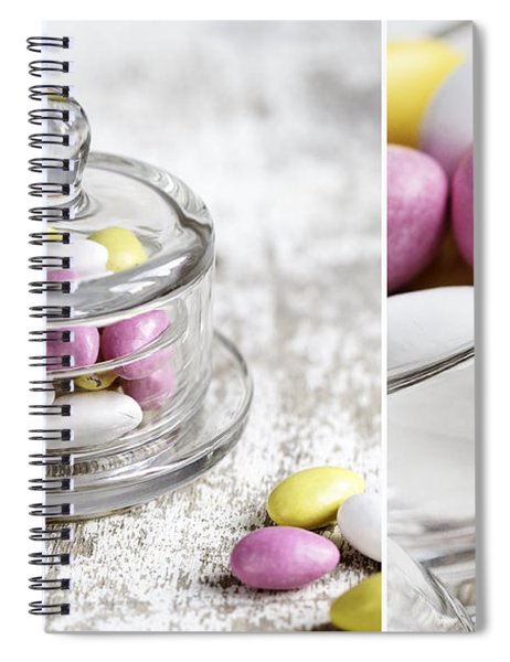 Sweet Candy Spiral Notebook
