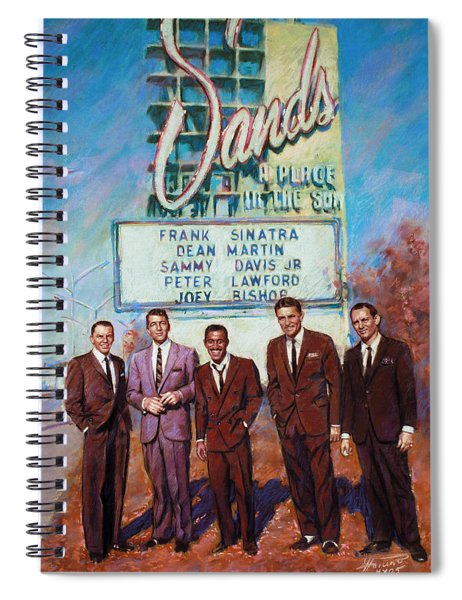 The Rat Pack Spiral Notebook