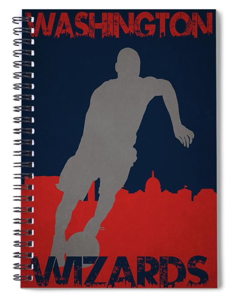 Washington Wizards Spiral Notebook