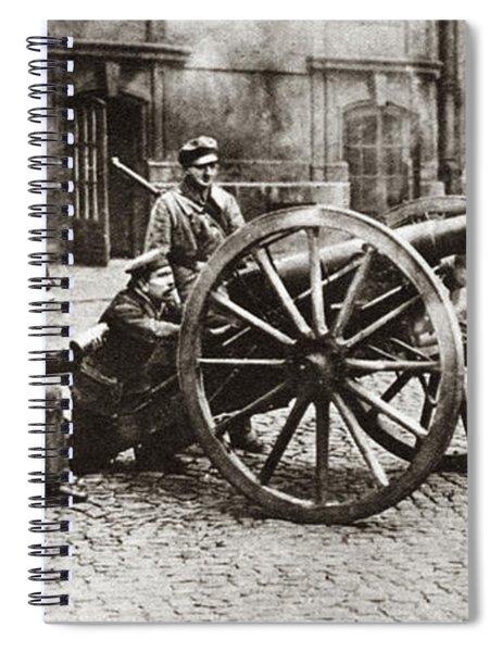 World War I Berlin, C1919 Spiral Notebook