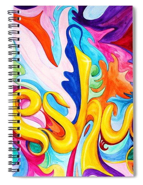 Yeshua Spiral Notebook