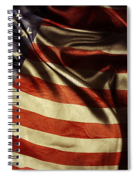 American Flag 51 Spiral Notebook