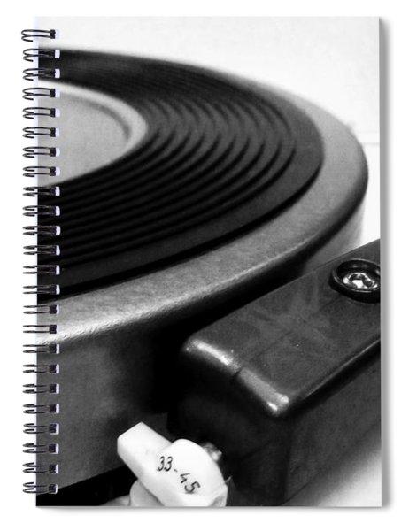 33-45 Spiral Notebook