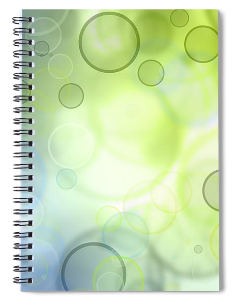 Circles Of Hope Spiral Notebook
