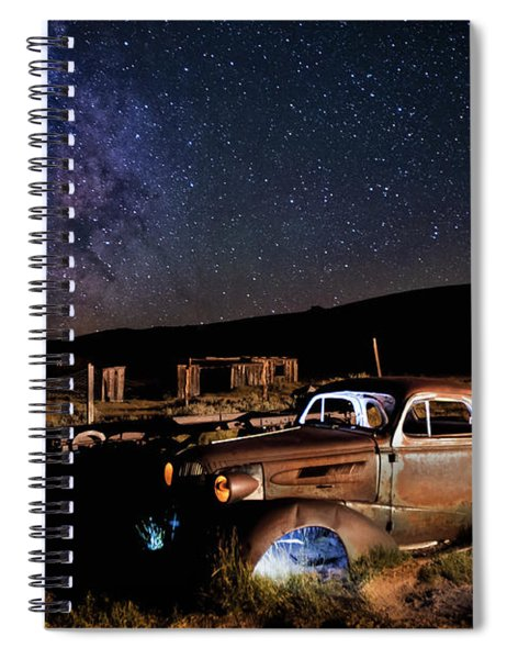 '37 Chevy And Milky Way Spiral Notebook