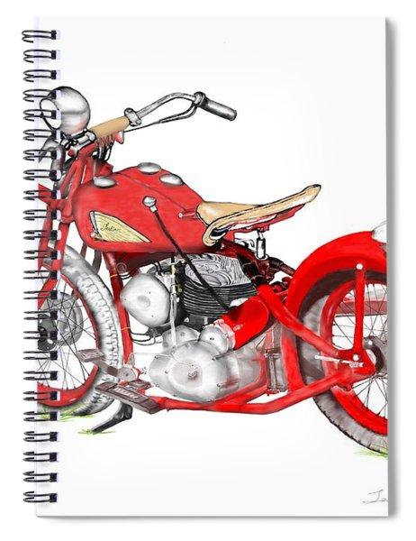 37 Chief Bobber Spiral Notebook