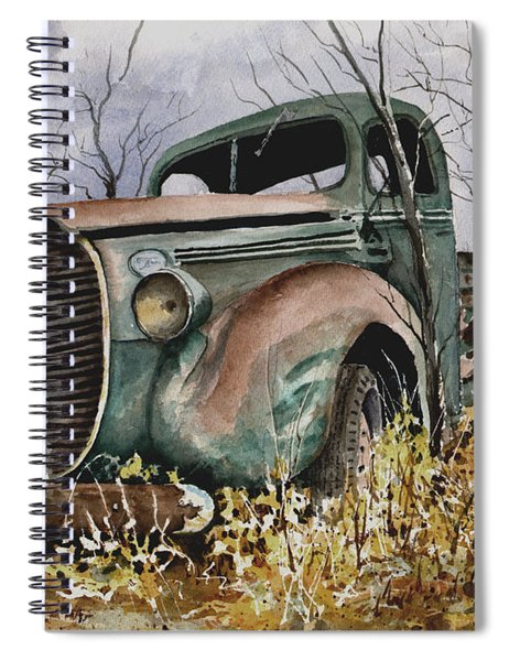 39 Ford Truck Spiral Notebook