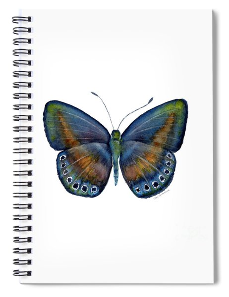 39 Mydanis Butterfly Spiral Notebook