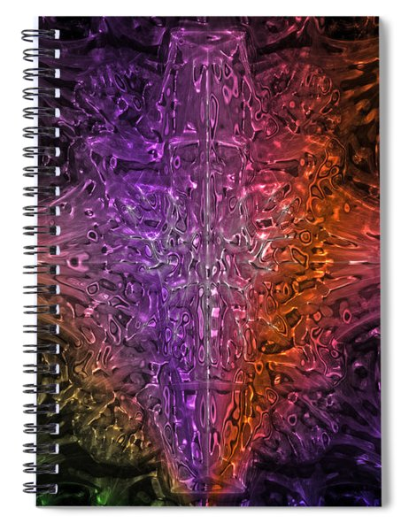 Abstract Series 03 Spiral Notebook