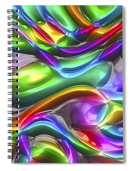 Abstract Series 38 Spiral Notebook
