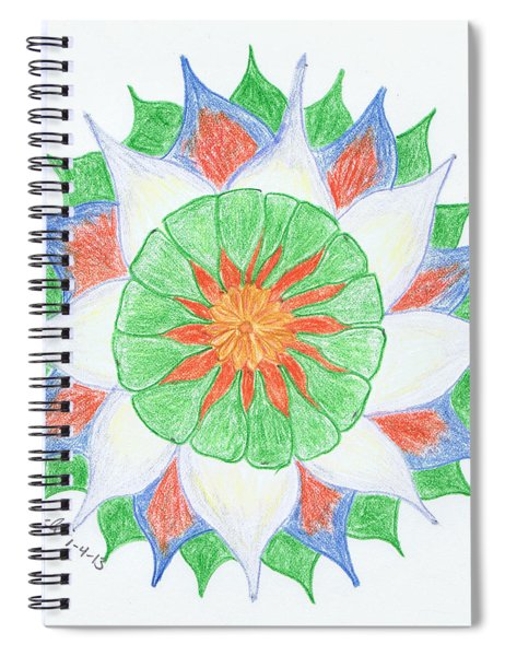 4 Spiral Notebook