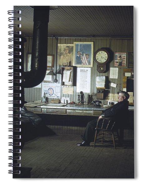 Chicago Railroad, 1942 Spiral Notebook