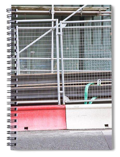 Construction Site Spiral Notebook
