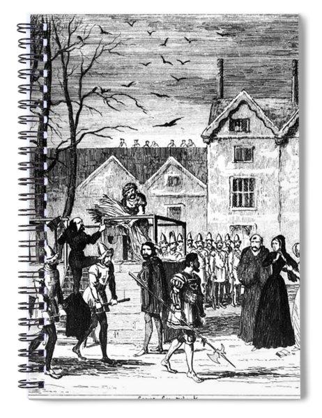 Cruikshank Tower Of London Spiral Notebook