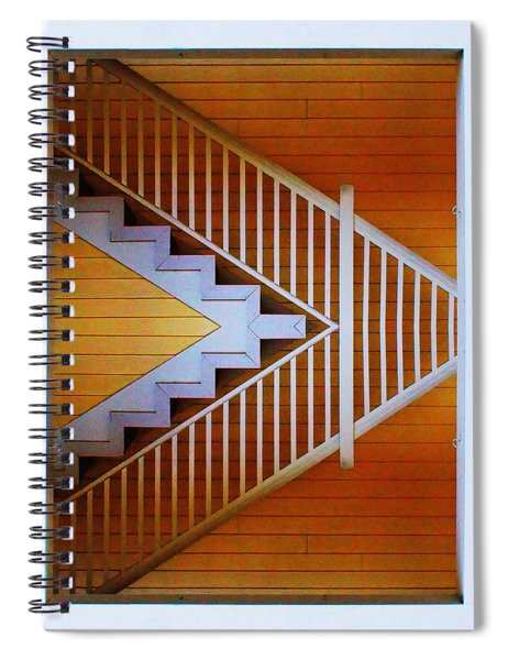 Distorted Stairs Spiral Notebook