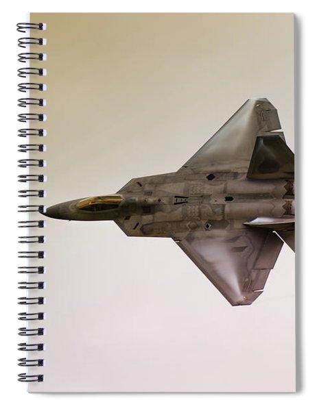 F-22 Raptor Spiral Notebook