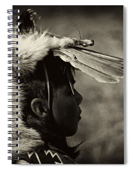 4 - Feathers Spiral Notebook