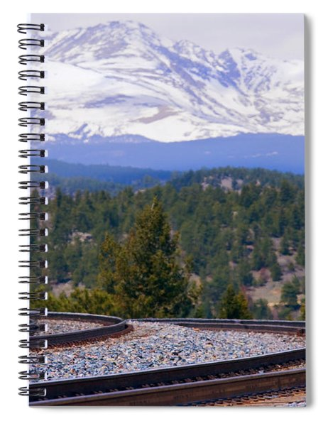 Freight On The Divide Spiral Notebook