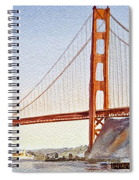 Golden Gate Bridge San Francisco Spiral Notebook