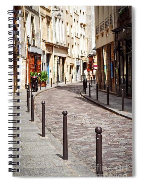 Paris Street Spiral Notebook
