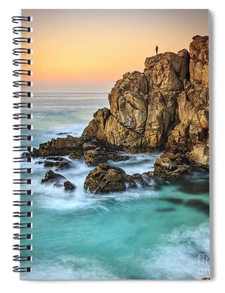 Penencia Point Galicia Spain Spiral Notebook