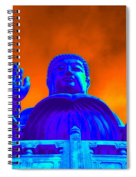 Tian Tan Buddha Spiral Notebook