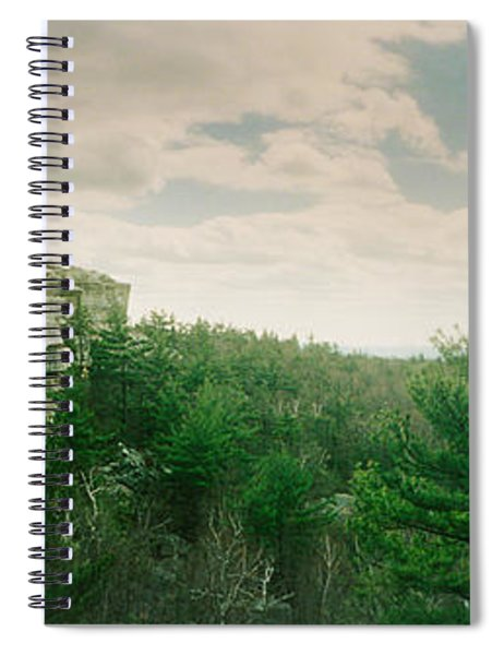 Trees And Boulders Along The Gertrudes Spiral Notebook