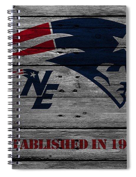 New England Patriots Spiral Notebook