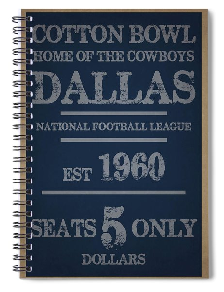 Dallas Cowboys Spiral Notebook