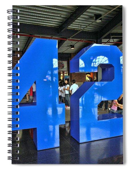42 - Jackie Robinson Spiral Notebook