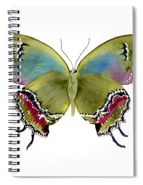 46 Evenus Teresina Butterfly Spiral Notebook