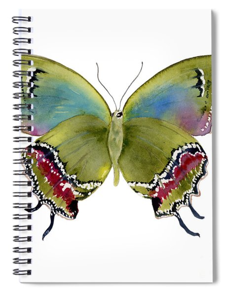 46 Evenus Teresina Butterfly Spiral Notebook