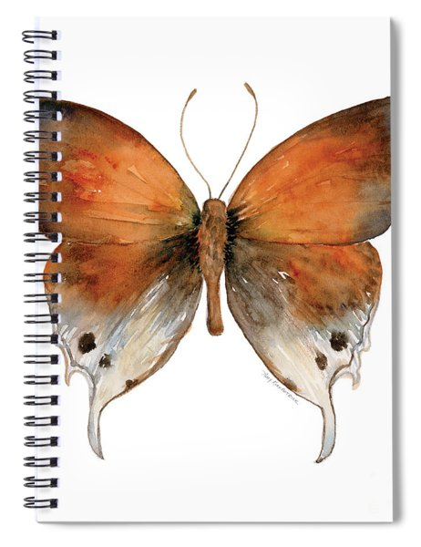 47 Mantoides Gama Butterfly Spiral Notebook