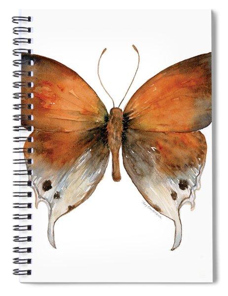 47 Mantoides Gama Butterfly Spiral Notebook by Amy Kirkpatrick