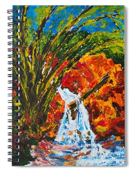 Burch Creek Waterfall Spiral Notebook