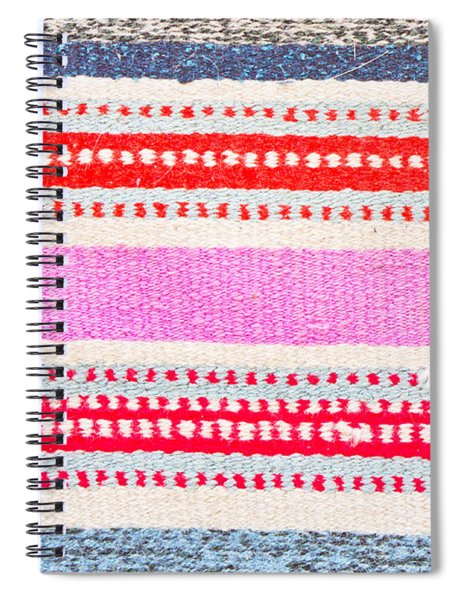 Colorful Rug Spiral Notebook