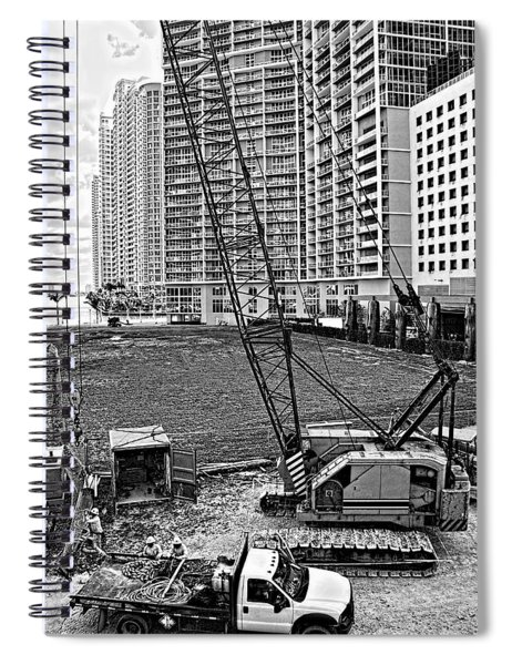 Construction Site-2 Spiral Notebook