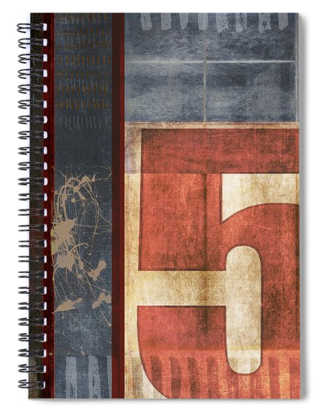 5 For The Books Spiral Notebook