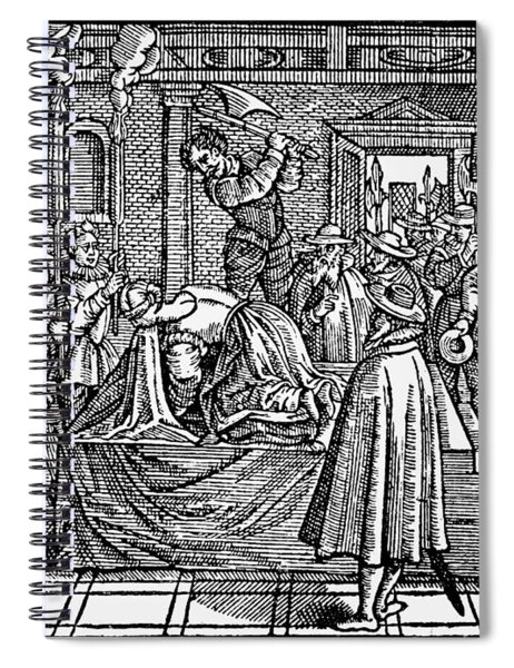 Mary, Queen Of Scots (1542-1587) Spiral Notebook
