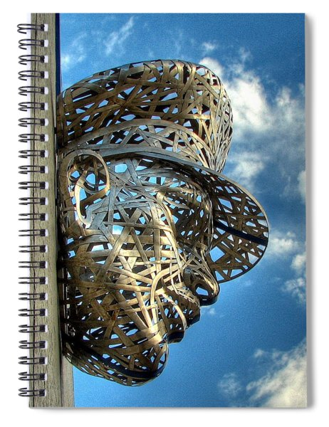 Thin Blue Line Spiral Notebook