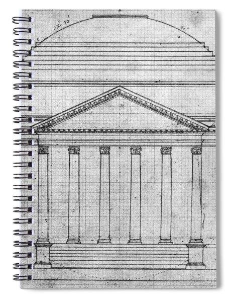 University Of Virginia Spiral Notebook