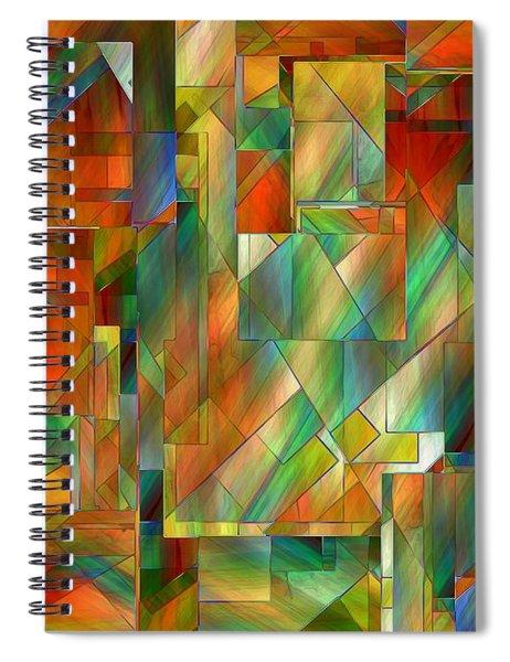 53 Doors Spiral Notebook