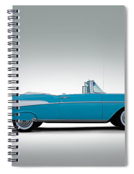 57 Chevy Convertible Spiral Notebook