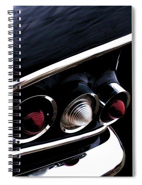 '58 Chevy Impala Fin Spiral Notebook