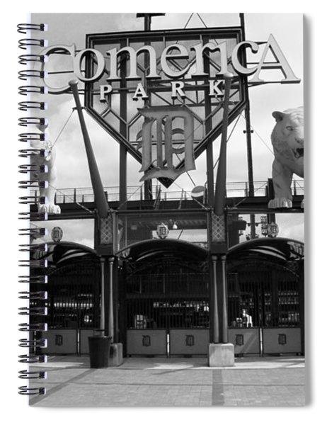 Comerica Park - Detroit Tigers Spiral Notebook